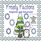 Factor Games - Frosty Factors Game and Task Cards 4.OA.B.4