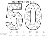 50th Day of School Math