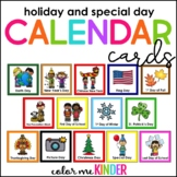 54 Holiday & Special Days Calendar Cards
