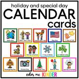 54 Holiday & Special Days Calendar Cards