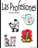 Spanish Professions 58 Slide Presentation, Flashcards or B