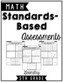 5.G.1 - 5.G.4 5th Grade Standards Based Formative & Summat