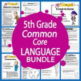 5th Grade Language - HUGE Common Core Bundle