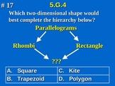 5th Grade Common Core Math Geometry Classify Two-Dimension