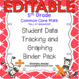 5th Grade Common Core: Math {Student Data Tracking Binder
