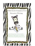 5th Grade Common Core Narrative Writing