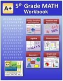 5th Grade Math Workbook (Worksheets, Exams and Answer Keys)