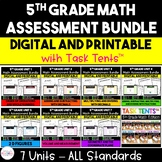 5th Grade Math Assessment Resource MEGA Bundle