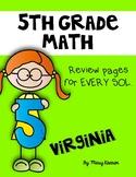 5th Grade Math SOL Workbook