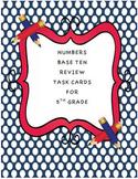 5th Grade NBT Task Cards