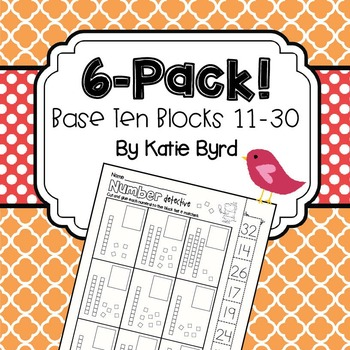 6-Pack! Place value 11-30