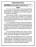 6 Reading Comprehension - Grade 4 (Progress Monitoring)