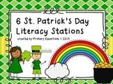 6 St. Patrick's Day Literacy Stations