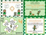 6 St. Patrick's centers: homophone, inference, parts of sp
