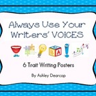 6 Traits of Writing Poster Set