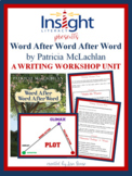 6 Writing Lessons using Word After Word After Word by P. M