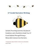 6th Grade Narrative Aligned with Common Core Standards