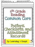 6th Grade Reading Common Core Pack