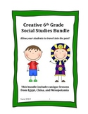 6th Grade Social Studies Bundle!