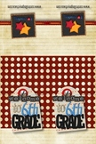 6th Grade Welcome Back to School Bookmarks