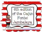 6th edition of the Cajun Font-Jambalaya