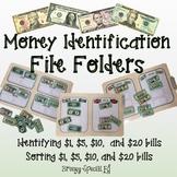 8 Money Sorting File Folders