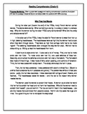 7 Reading Comprehension - Grade 4 (Progress Monitoring)