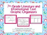 7th Grade Common Core Reading Graphic Organizers