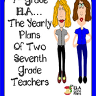 7th Grade ELA~ A Glimpse Into Our Yearly Plans!