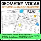Geometry Vocabulary: 8 Activities