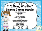 """9 """"I Have, Who Has"""" Science Games"""
