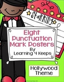 8 Punctuation Posters (Hollywood Theme)