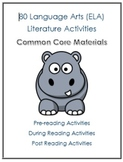 80+ ELA Common Core Standards Anchor Activities