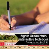 Eighth Grade Interactive Notebook Bundle- All Standards