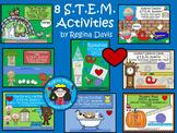 STEM Science, Technology, Engineering & Math 8 Bundled Act