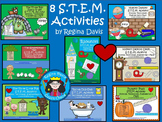 STEM Science, Technology, Engineering & Math 8 Bundled Act