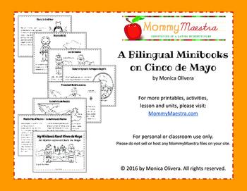 A Bilingual Minibook on Cinco De Mayo