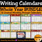 A Calendar Year Of Writing Mega Unit ~ 12 Writing Prompt C