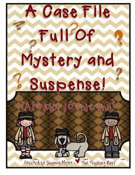 A Case File Full Of Suspense {A Mystery Genre Unit}