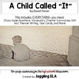 A Child Called IT - Handouts and Activities