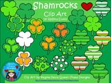 A+ Clip Art: Shamrocks