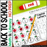 A Dab of Learning {Back-to-School Literacy & Math Bingo Da