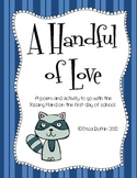 A Handful of Love - Kissing Hand Activity