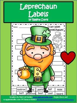 A+  Leprechaun Labels