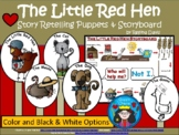 A+ Little Red Hen Story Retelling Puppets and Storyboard