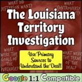 Louisiana Territory Investigation: Primary Sources to Navi