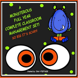A  MONSTEROUS   FULL YEAR  COMPLETE CLASSROOM MANAGEMENT SET!