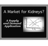 """Economics Supply and Demand Application: """"A Market for Kidneys?"""""""