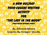 "A New Holiday Four-Square Writing Activty for ""Lady in the"