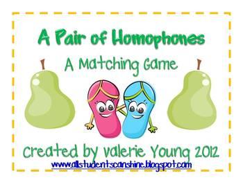 A Pair of Homophones